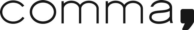 Logo comma, DOB