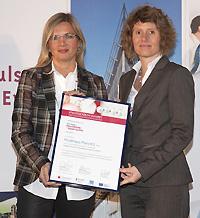 Ministerin Lemke mit Karin Kaltenkirchen