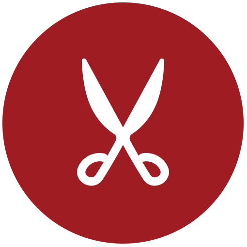 Symbol für Schneiderei